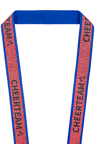 Custom Glitter Lanyards