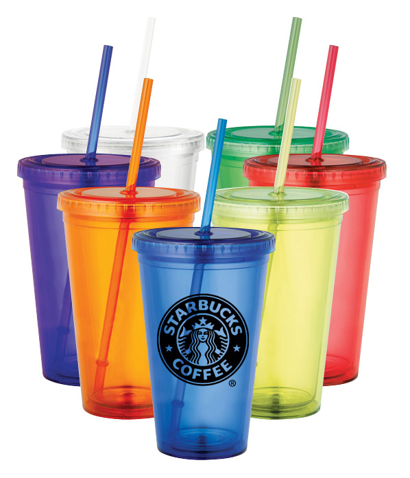 Custom Double Wall Tumbler - 16 Oz.
