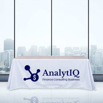 8FT Trade Show Table Cover