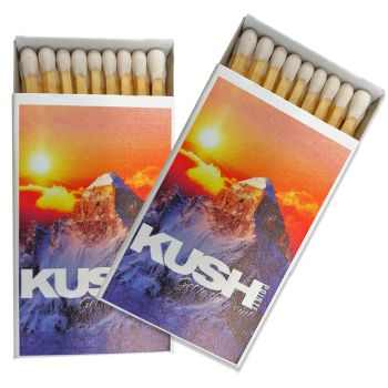 Full Color Matchboxes with 23 2-Inch Matchsticks