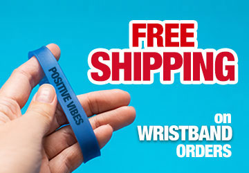 Free Wristbands Shipping Offer