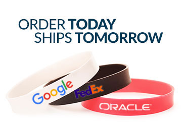 Order Wristband Today - Ship Tomorrow